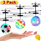 3 Pack Flying Ball Kids Toys RC Flying Toys Hand Control Hel...