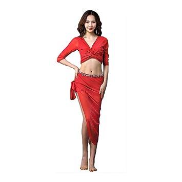 Disfraz Danza del Vientre Mujer Traje De Ejercicio para Mujer ...