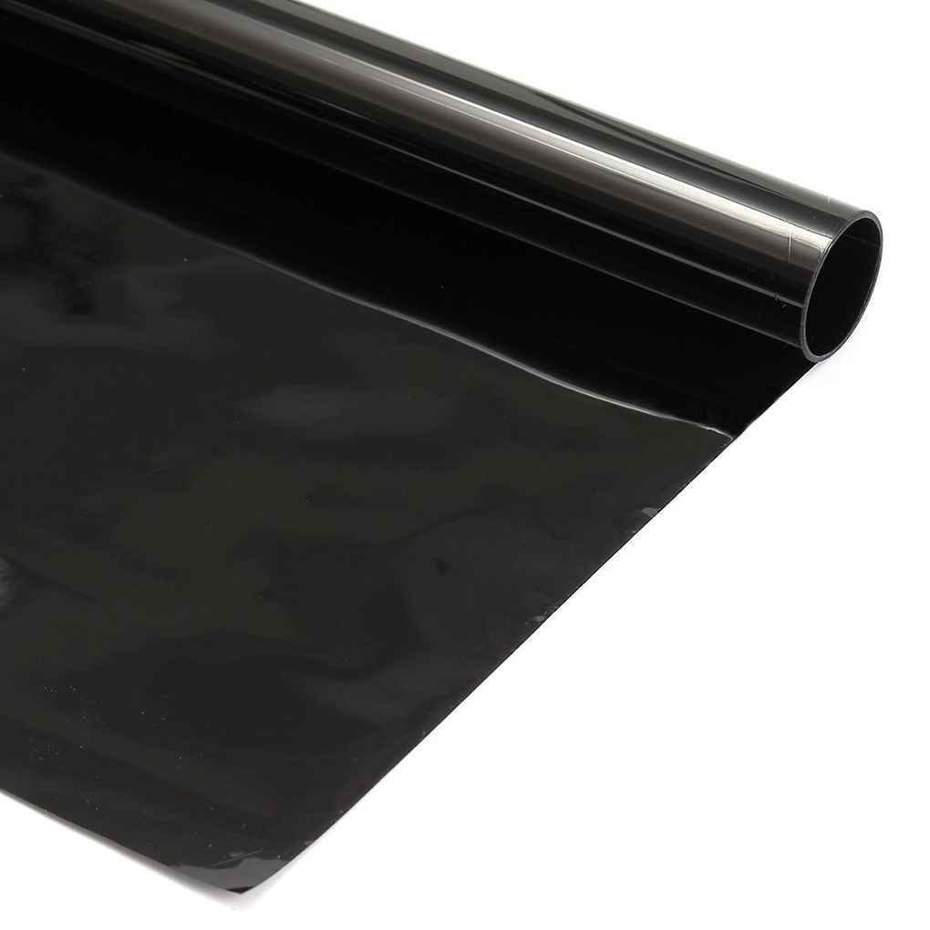 2PLY 0,5x3m 5/% 15/% 30/% VLT Nero Scuro Privacy Car Home Glass Window Tint Tinting Film Vinile Rotolo Regard