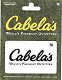 Cabelas $50 Gift Card offers