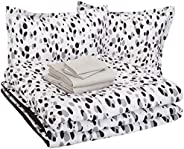 AmazonBasics Easy Care Super Soft Microfiber Kid's Bed-in-a-Bag Bedding