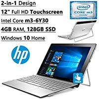 2016 Newest HP Spectre X2 12 Detachable High Performance Premium (1920x1280) TouchScreen Laptop(Core M3-6Y30DC, 4GB RAM, 128GB SSD, 802.11 A/C) WebCam, Win10