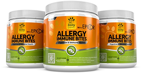 Allergy immune supplement for dogs with omega 3 wild for Fish oil for dog allergies