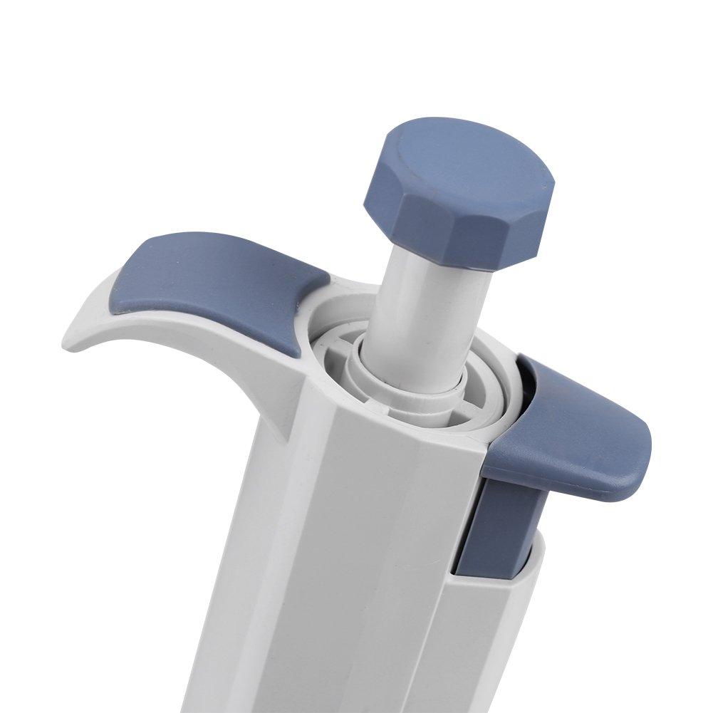 Farbe : M50 5-50ul 1 st/ück einkanalige manuelle multi-volum einstellbar pipette pipettor pipet labor tool