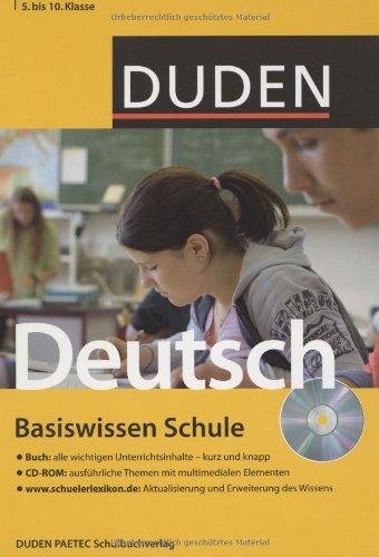 Deutsch: 5. bis 10. Klasse