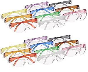 Gateway Safety 3699 Colorful ltqYtt StarLite Gumballs Safety Glasses, Small, All Colors Included, Pack of 20