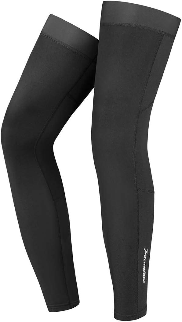 Przewalski Leg Sleeve, Fleece Leg Warmers Full Length Thermal Calf Compression Sleeve for Cycling, MTB, Riding, Running