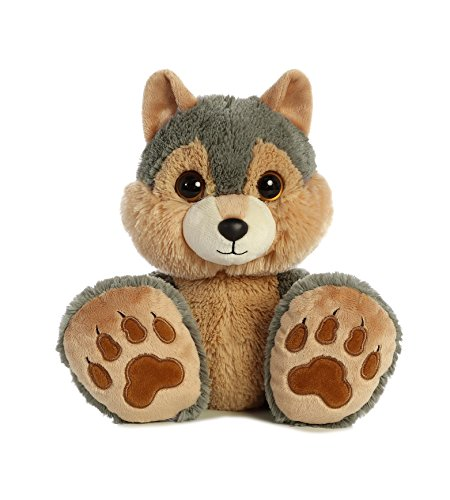Aurora – Taddle Toes – 10″ Eclipse Wolf