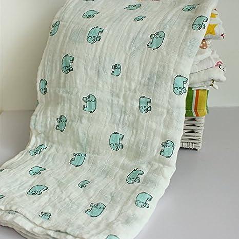 Toallas de baño bebé para capazo protectora bebé servilletas de cuerpo para niño niña en algodón