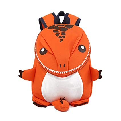 Image Unavailable. Image not available for. Color  3D Dinosaur Backpack for Boys  Children 1-6 Kids Cartoon Kindergarten Backpacks School Bags Girl dc67e5e1b76f0