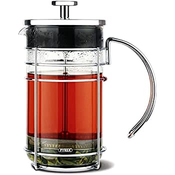 GROSCHE Madrid French Press Coffee Maker, Tea Press & Coffee Press 8 cup 34 oz 1L with Pyrex Glass