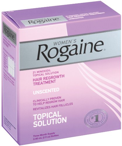 Rogaine pour les femmes repousse des cheveux traitement, deux onces, 3 Count