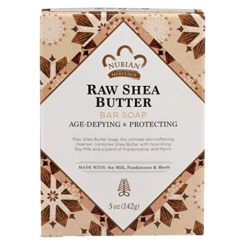 (Bar Soap Raw Shea Butter 5 Oz By Nubian Heritage)
