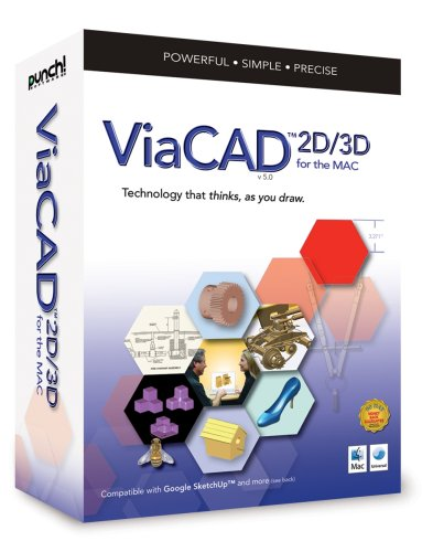 Punch! ViaCAD 2D/3D (Mac) [OLD VERSION] by Punch Software