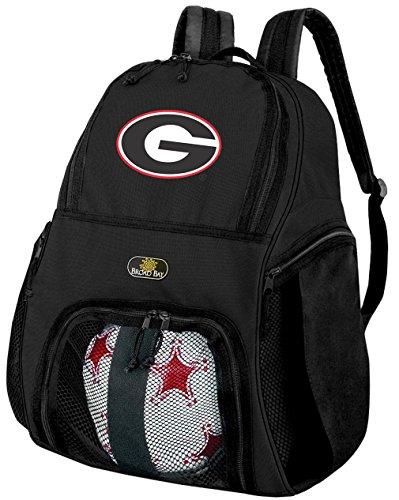 University of GeorgiaサッカーバックパックまたはGeorgia Bulldogsバレーボールバッグ