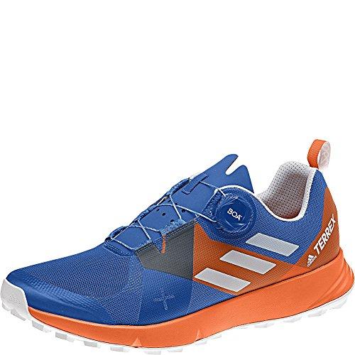 Adidas Outdoor Mannen Terrex Twee Boa Schoen Blauw Beauty / Grijze / Oranje