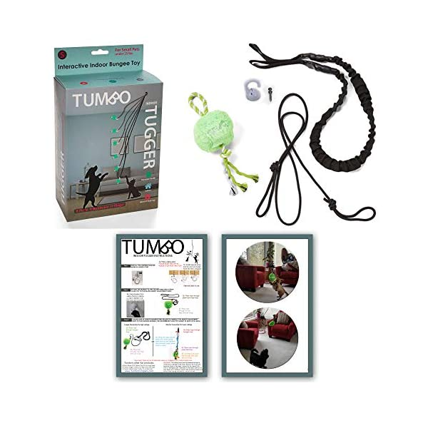Tumbo Indoor Tugger with Plush Ball , 1 Count Click on image for further info.