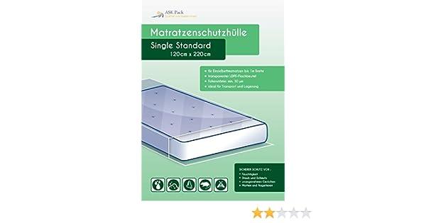 Bolsa de Colchón Single para 100cm Colchón - protección sencilla para el traslado, transporte y almacenamiento: Amazon.es: Hogar