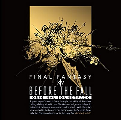 Final Fantasy XIV Before the Fall Original Soundtrack Blu-ray Disc  Music[japan Import]