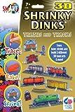 3D Shrinky Dinks Trains and Tracks
