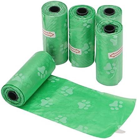 ZHANGJIANJUN Bolsas de Basura de plástico Biodegradable Pet Fácil ...