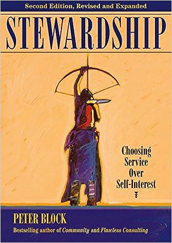 Amazon Fr Stewardship Choosing Service Over Self Interest