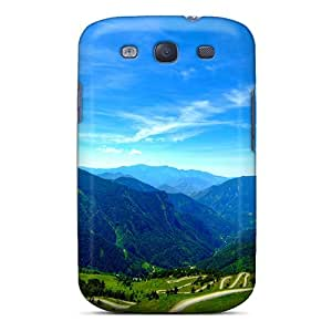 Galaxy Cover Case - Beautiful Lscape Protective Case Compatibel With Galaxy S3