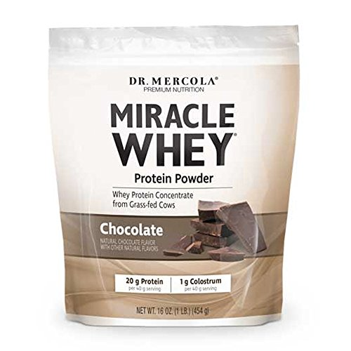 Miracle Whey Protein Chocolate 1 lb Pwdr