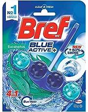 Bref Blue Active Toilet Bowl Cleaner - Eucalyptus,2184937