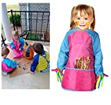 Bassion Pack of 2 Kids Art Smocks, Children