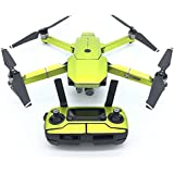 PeleusTech® Fluorescence Stickers Full Set for DJI Mavic Pro Drone Skins Decals Remote Controller Waterproof Stickers - (Fluorescence Green)