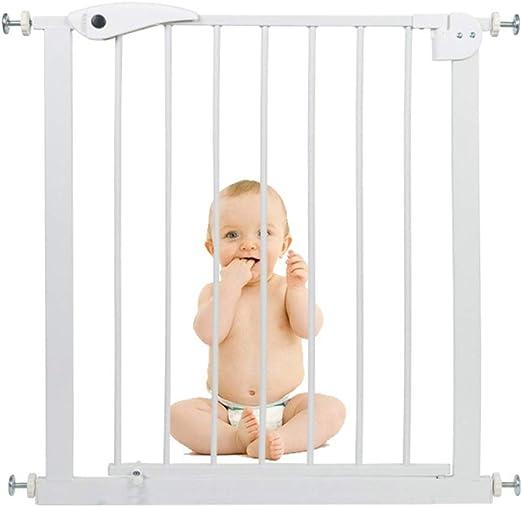 QIANDA Barrera de Seguridad Bebé Puerta de la Escalera Pasillo Ancho Ideal for Niños Y Mascotas Protector De Barrera Guardia De La Escalera Fácil Caminar, Ancho 65-142cm (Size : 65-72cm): Amazon.es: Hogar