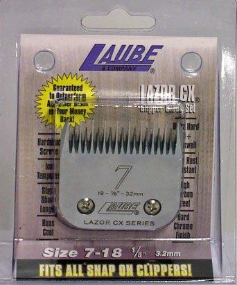 Laube CX  7 (3.2mm Cut) A5 Clipper Blade