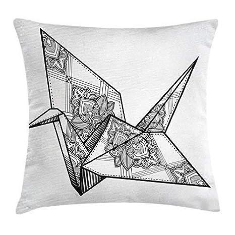 Bgejkos Funda de cojín Art Throw Pillow Cojín, Estilo ...