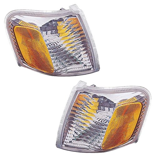 Drivers Explorer Ford Corner Side - 01 02 03 04 05 Ford Explorer Sport Trac Cornerlight Cornerlamp Pair Set 01-03 Explorer Sport Driver and Passenger