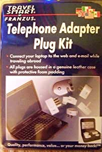 Travel Smart Telephone / Laptop Modem Adapter Plug Kit TS-628TP