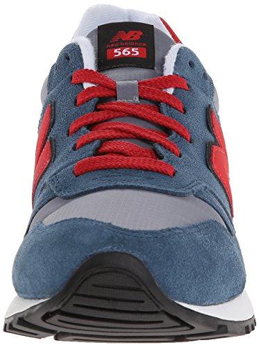 888546361058 - New Balance Men's Ml565 Lifestyle Running Shoe,Blue/Red, 10.5 D US carousel main 3
