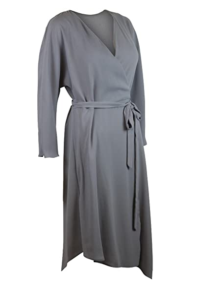 Highstreet Outlet Vestido - envolvente - para mujer Gris gris 36