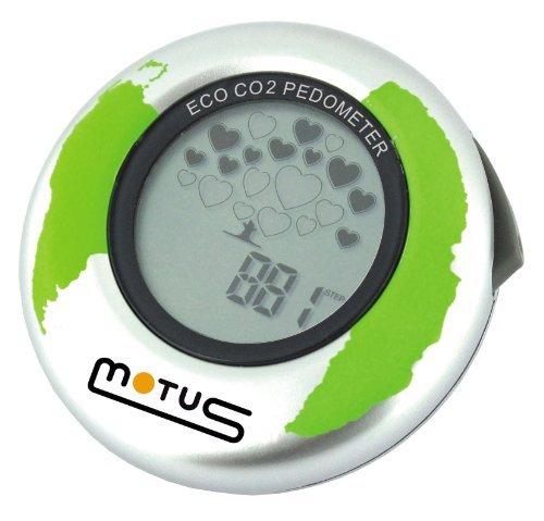 Motus Eco Co2 pedometro con con con Esclusivo indicatore Co2 (argentoo) | Sale Italia  | acquisto speciale  | La prima serie di specifiche complete per i clienti  | Stile elegante  | Di Modo Attraente  | Di Nuovi Prodotti 2019  586997
