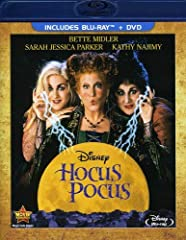 Conjure up a cauldron of laughs with HOCUS POCUS, a fiendishly fun movie now on Blu-ray for the first time, featuring an all-new digital restoration with enhanced picture and sound. Academy Award(R) nominee Bette Midler (Best Actress, 1991, F...