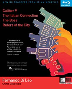 Fernando Di Leo Crime Collection (Caliber 9 / The Italian Connection / The Boss / Rulers of the City) [Blu-ray]