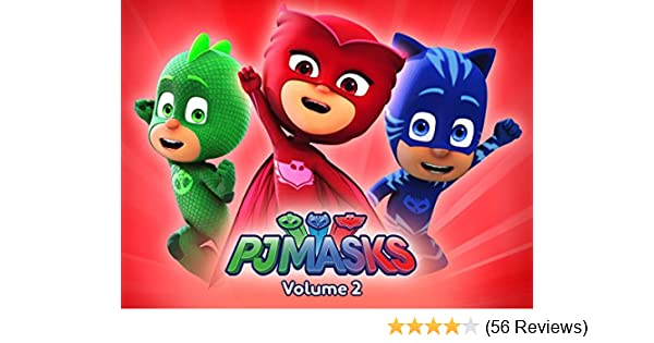 Amazon.com: PJ Masks - Volume 2: Jacob Ewaniuk, Kyle Harrison Breitkopf, Addison Holley, Christian De Vita, Wilson Dos Santos, Merle-Anne Ridley, ...