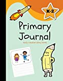 Primary Journal: Early Creative Story Book, Aqua Blue (Draw and Write)