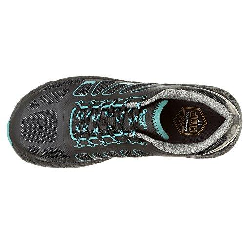 M Work Rubber 8 Athletic Reflx Women's Shoes Nylon Georgia Alloy Mesh Black Toe Hg7xqa