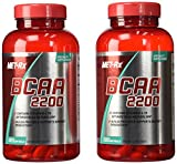 MET-RX BCAA 2200, 180 SGEL (2 Pack) For Sale