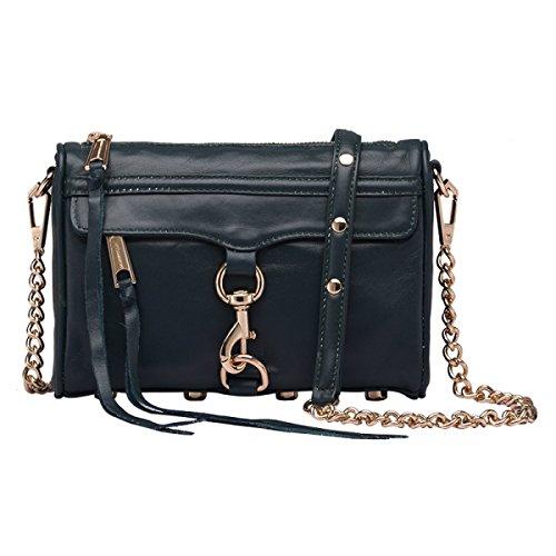 Baguettes Totes Handbags Zipper Leather Messenger Cowhide Genuine Shoulder Bag black4 Fashion Green Gshga IxzvqTnw