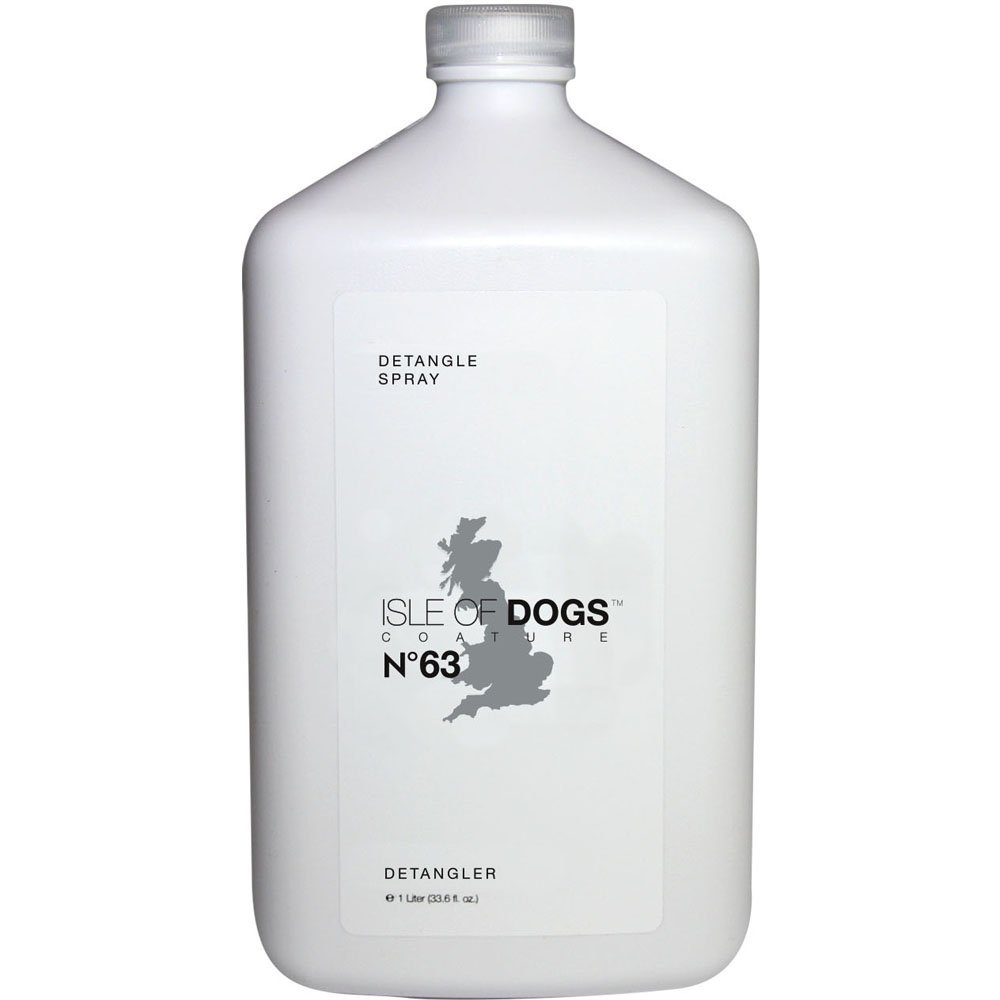 Isle of Dogs Coature No. 63 Detangle Dog Conditioning Mist for Matted Hair, 1 Liter