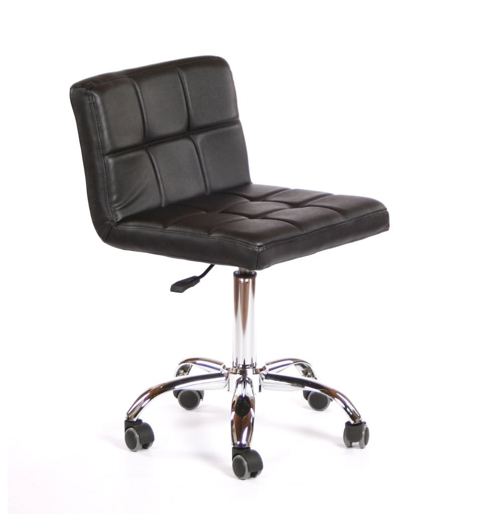 Urbanity Diva Hairdressing Beauty Manicure Nail Technician Salon Chair Stool Seat Black