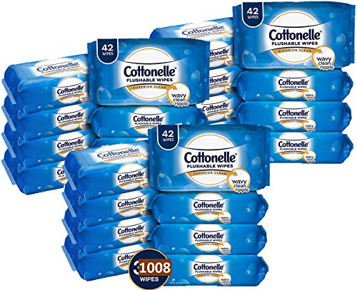 Cottonelle Freshcare Flushable Wipes For Adults Unscented