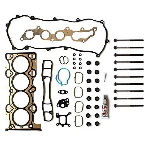 (ROADFAR Head Gasket Bolts Set Kit for Ford Escape Ranger Mazda B2300 Mercury Mariner 2.3L VIN D H Z MZR 01 02 03 04 05 06 07 08 09)